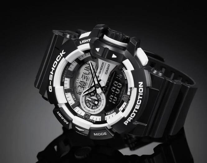 Casio G-Shock GA-400-1ADR Analog-Digital Wrist Watch For Men - Black