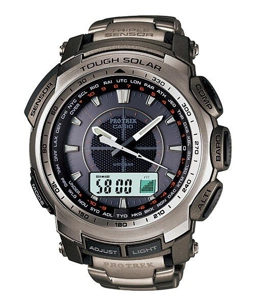 Casio Outdoor PRG-510T-7DR Analog-Digital Watch for Men