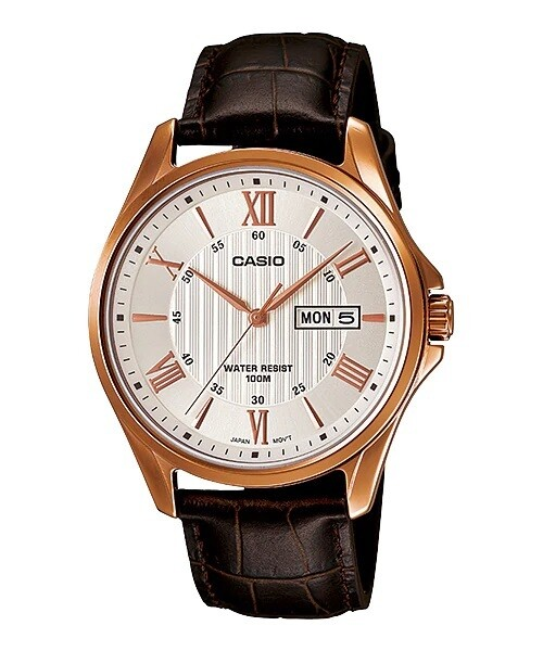 Casio Enticer MTP-1384L-7AVDF Analog Wrist Watch For Men - Brown