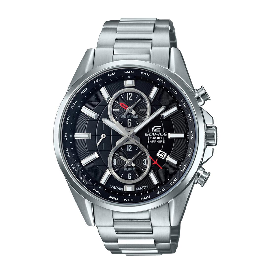 Casio Edifice EFB-302JD-1ADR Silver Metal Watch For Men
