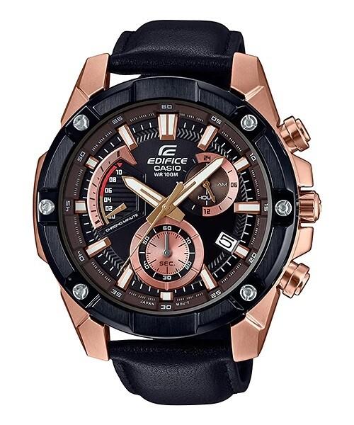 Casio Edifice EFR-559BGL-1AVUDF Analog Wrist Watch For Men - Black