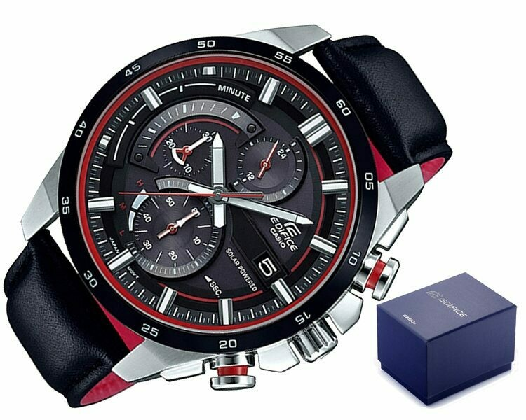 Casio Edifice EQS-600BL-1AUDF Analog Wrist Watch For Men - Black