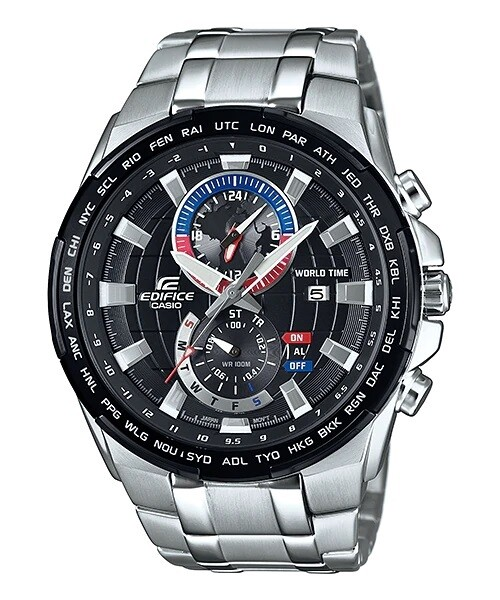Casio Edifice EFR-550D-1AVUDF Analog Wrist Watch For Men - Silver