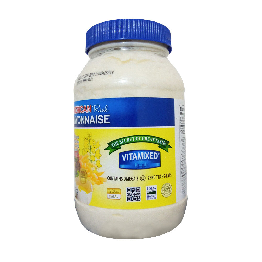 AMERICAN Real Mayonnaise-887ml