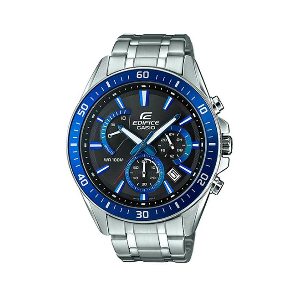 Casio Edifice EFR-552D-1A2VUDF Analog Wrist Watch For Men - Silver