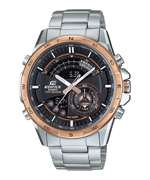 Casio Edifice ERA-200DB-1A9DR Silver Stainless Steel Watch for Men