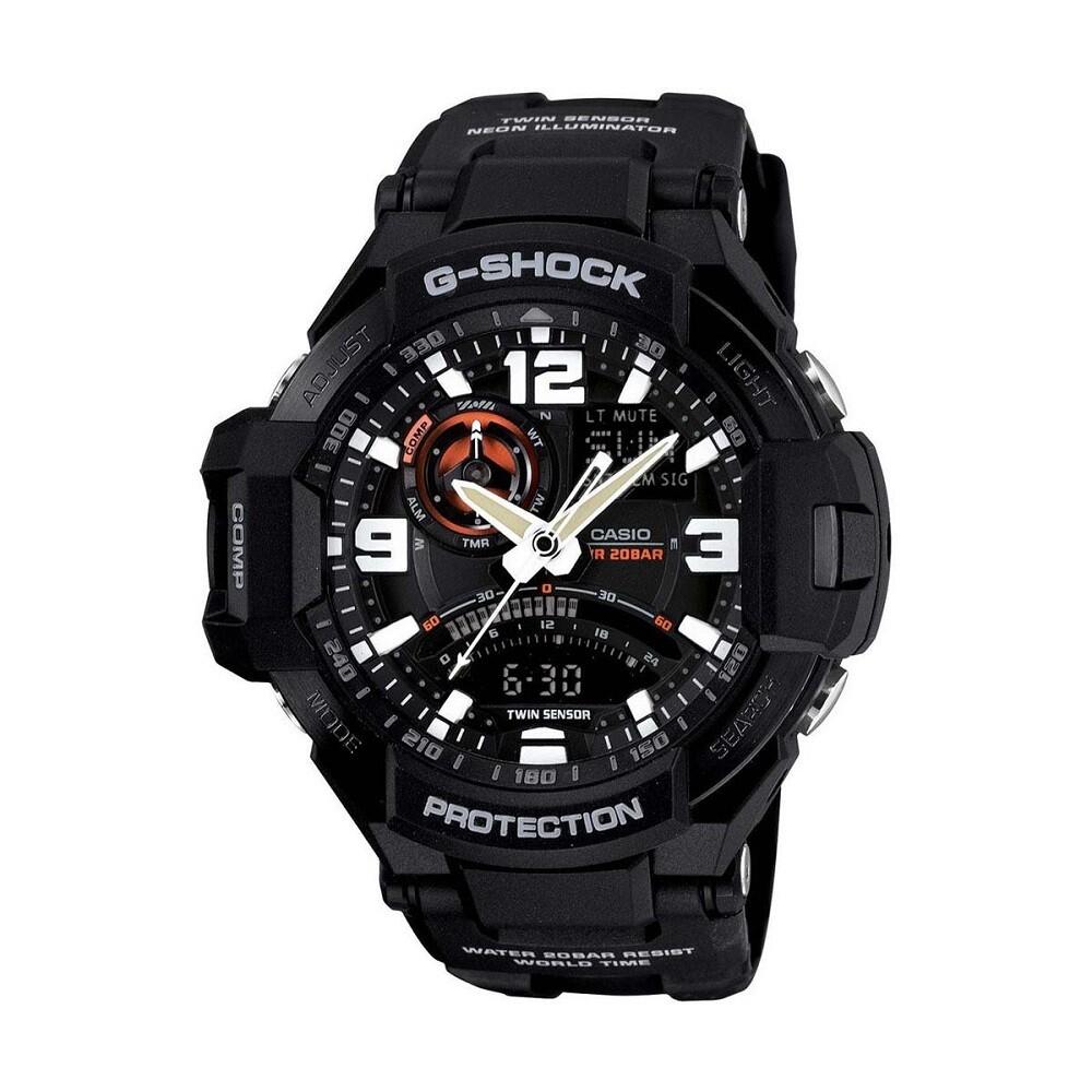 Casio G-Shock GA-1000-1ADR Analog-Digital Watch for Men -Black