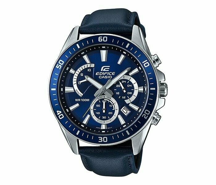 Casio Edifice EFR-552L-2AVUDF Analog Wrist Watch For Men - Black