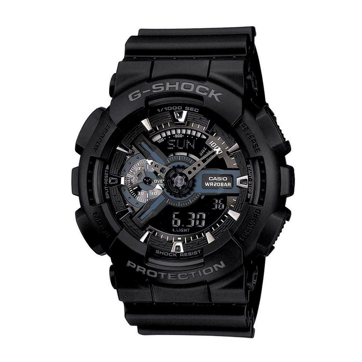 Casio G-Shock GA-110-1BDR Analog-Digital Watch for Men -Black