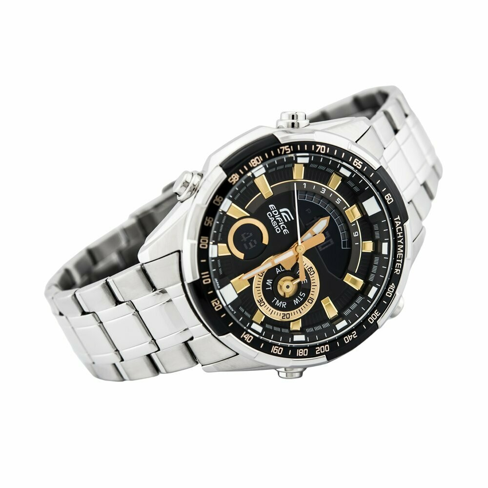 Casio Edifice ERA-600D-1A9VUDF Analog-Digital Wrist Watch For Men - Silver