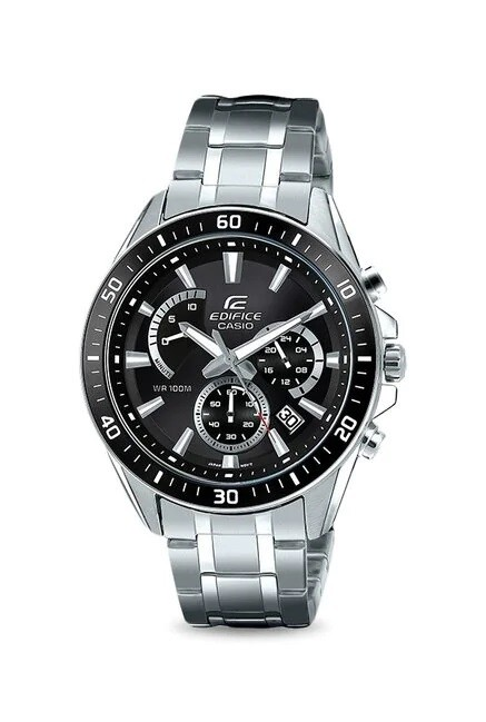 Casio Edifice EFR-552D-1AVUDF Analog Wrist Watch For Men - Silver