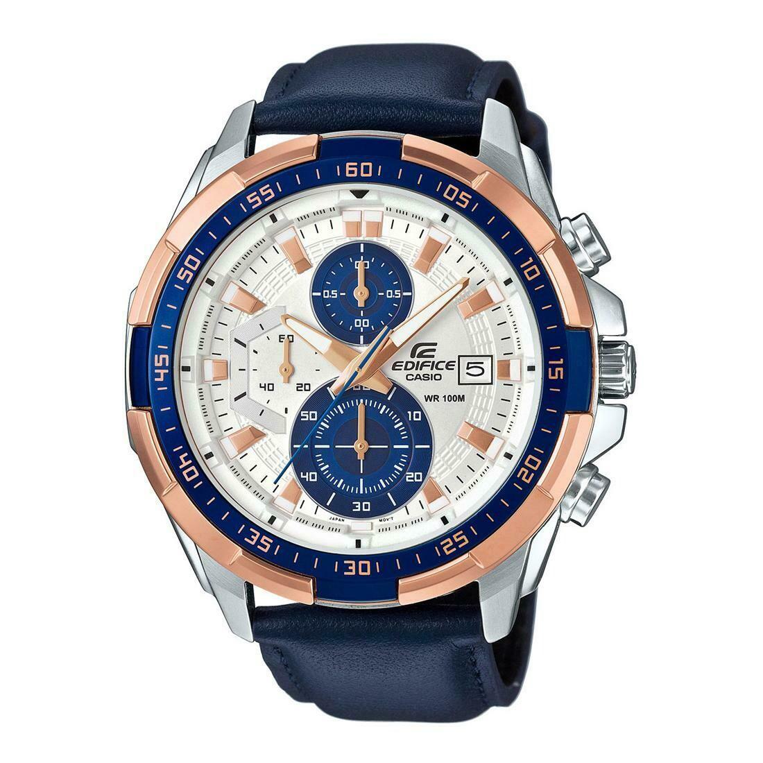 Casio Edifice EFR-539L-7CVUDF Analog Wrist Watch For Men - Blue