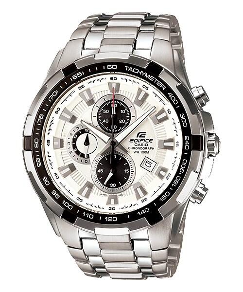 Casio Edifice EF-539D-7AVDF Analog Wrist Watch For Men - Silver