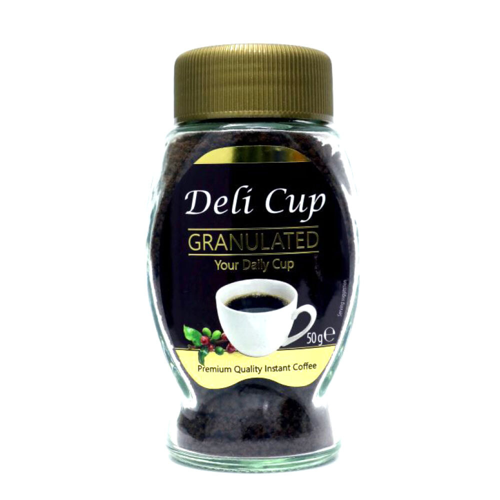Deli Cup Granulated Coffee 50 gm