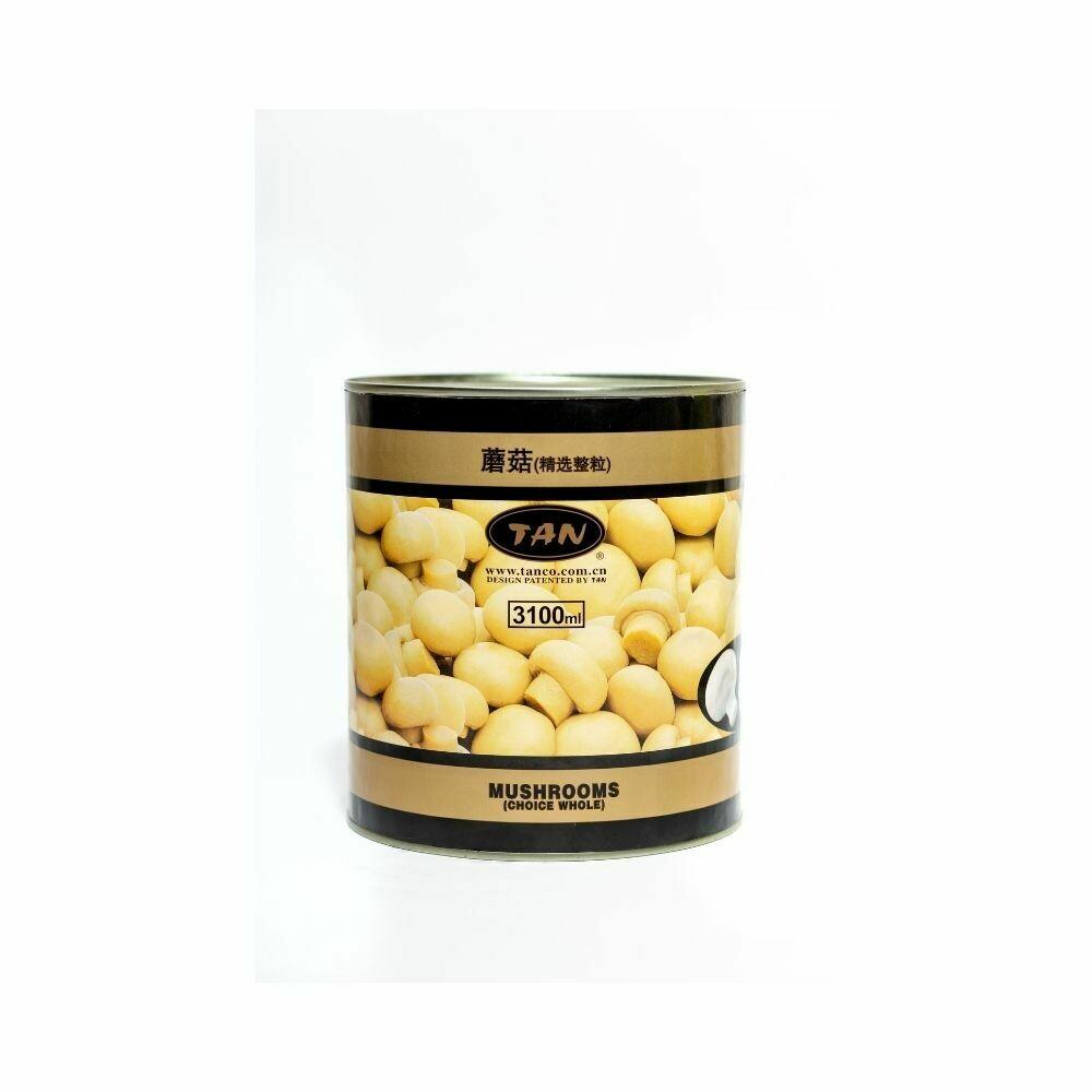 Tan Canned Mushroom 3100ml