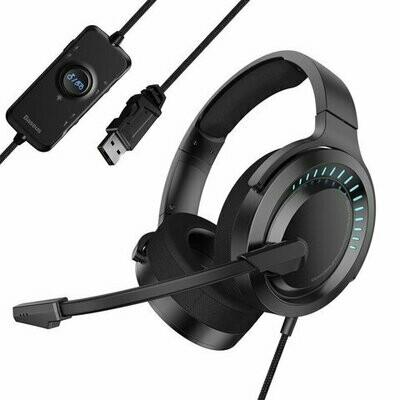 Baseus GAMO Immersive Virtual 3D Game headphone (PC) Black
