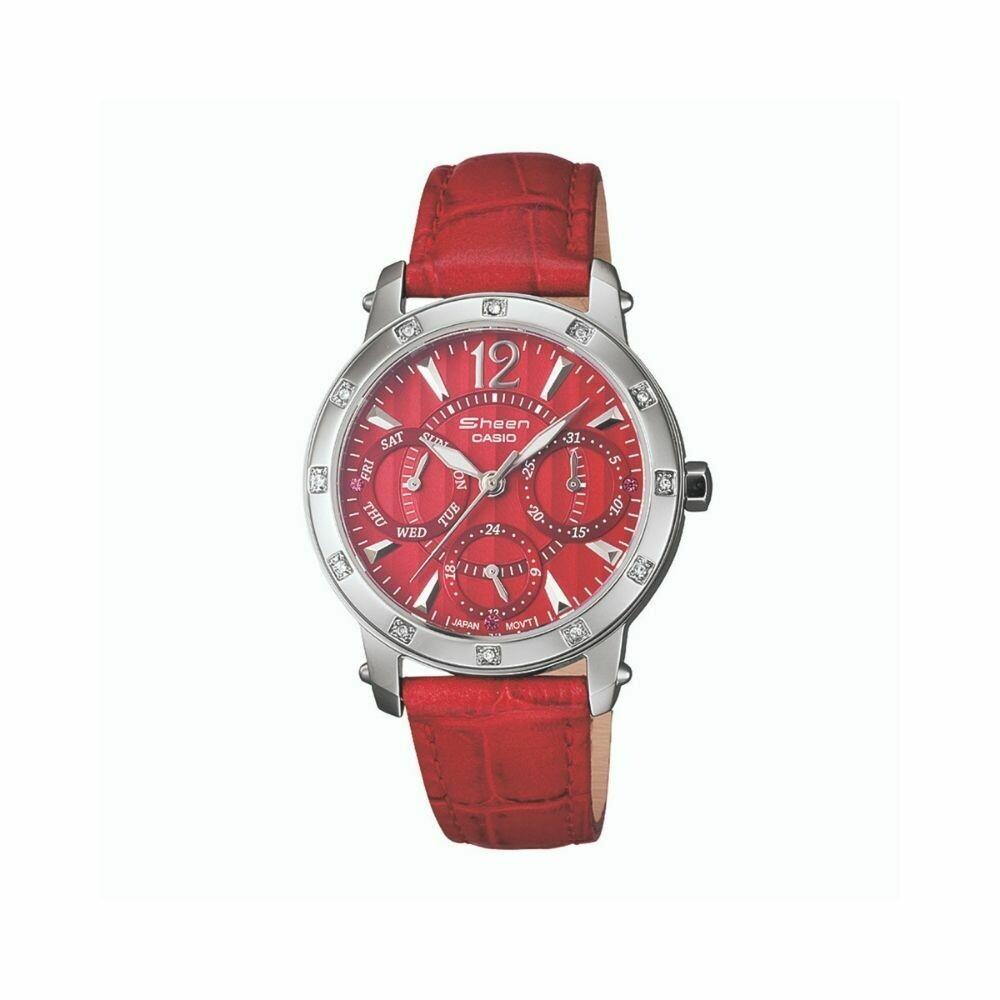 Casio Sheen SHN-3012L-4ADR Analog Watch for Women