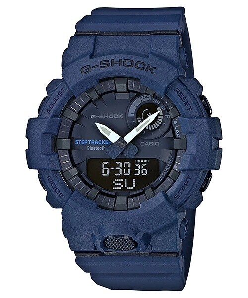 Casio G-Shock GBA-800-2ADR Analog-Digital Wrist Watch For Men - Blue