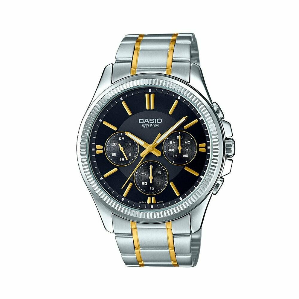Casio Enticer MTP-E305SG-1AVDF Analog Wrist Watch For Men