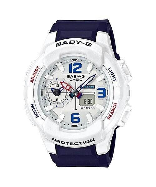 Casio Baby-G BGA-230SC-7BDR Blue Resin Watch For Women