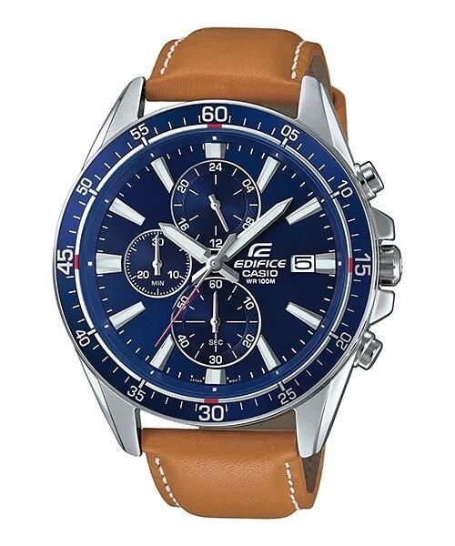 Casio Edifice EFR-546L-2AVUDF Analog Wrist Watch For Men - Brown
