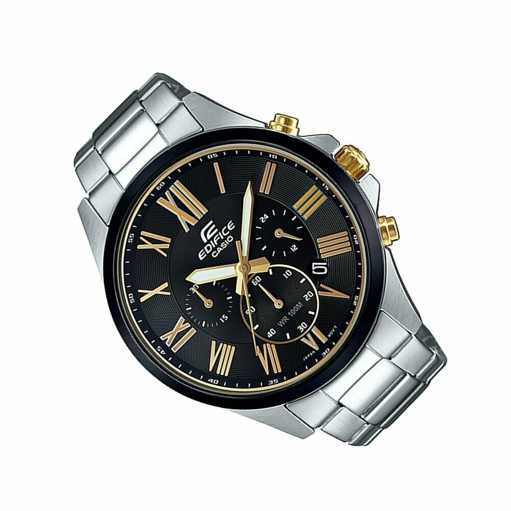 Casio Edifice EFV-500DB-1AVUDF Analog Wrist Watch For Men - Silver