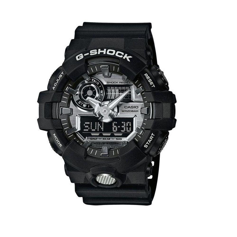Casio G-Shock GA-710-1ADR Analog-Digital Wrist Watch For Men - Black