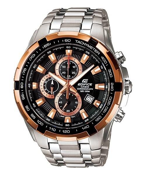 Casio Edifice EF-539D-1A5VDF Analog Wrist Watch For Men - Silver