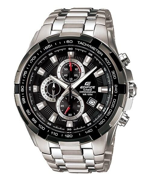 Casio Edifice EF-539D-1AVDF Analog Wrist Watch For Men - Silver