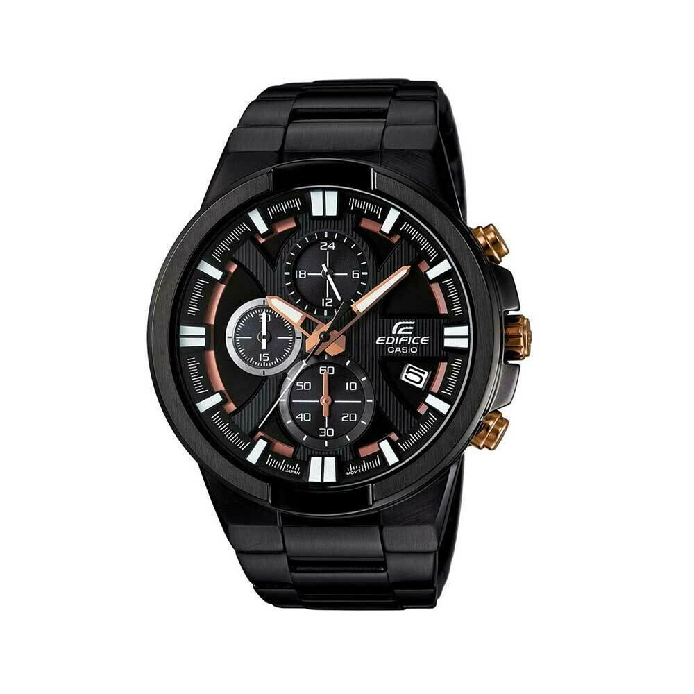 Casio Edifice EFR-544BK-1A9VUDF Analog Wrist Watch For Men - Black