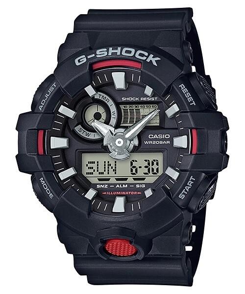 Casio G-Shock GA-700-1ADR Analog-Digital Wrist Watch For Men - Black