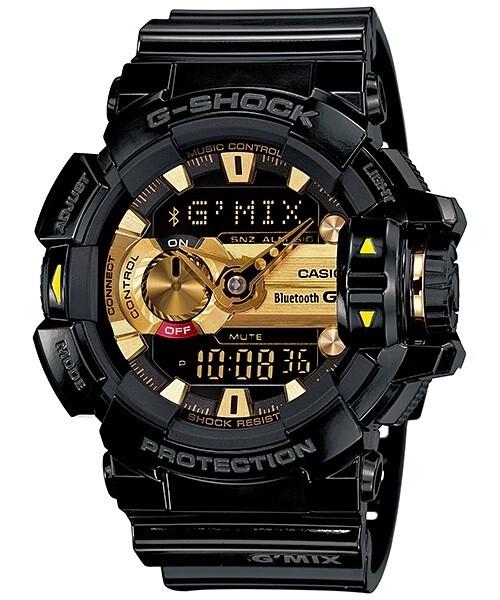 Casio G-Shock GBA-400-1A9DR Analog-Digital Wrist Watch For Men - Black