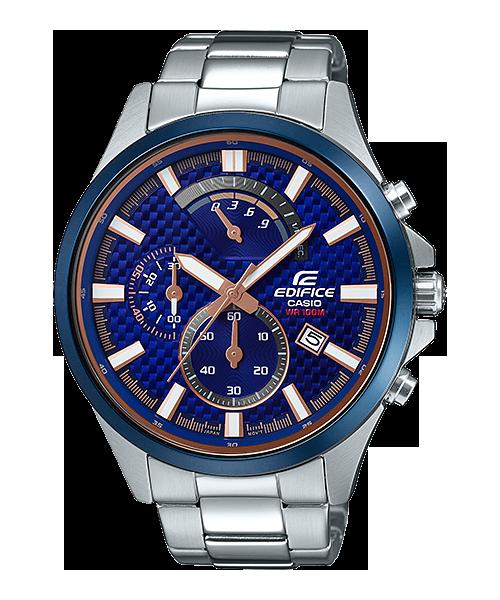 Casio Edifice EFV-530DB-2AVUDF Analog Watch for Men -Silver