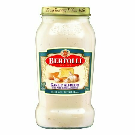 Garlic Alfredo with Aged Parmesan Cheese-BERTOLLI