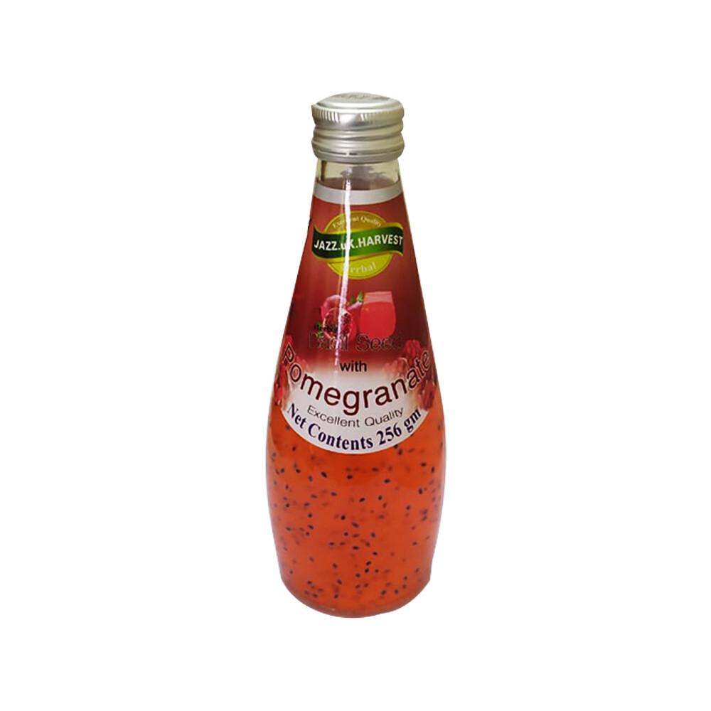 Basil Seed Drink-Pomegranate