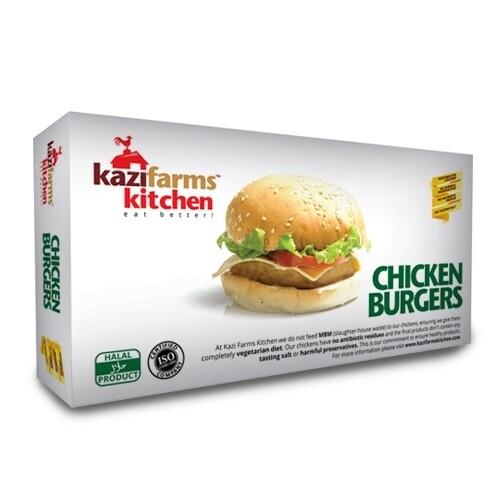 Kazi Farms Chicken Burger