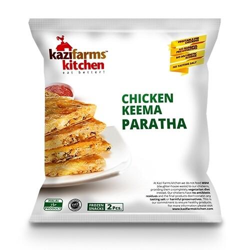 Kazi Farms Chicken Keema Paratha