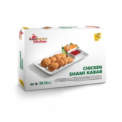 Kazi Farms Chicken Shami Kabab