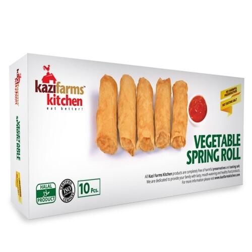 Kazi Farms Vegetable Spring Roll