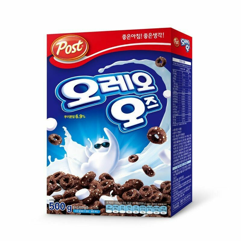 Post Oreo O's Choco Cereal