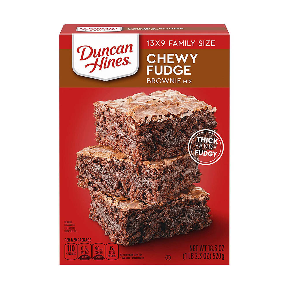 Chewy Fudge Brownie Mix - DUNCAN HINES