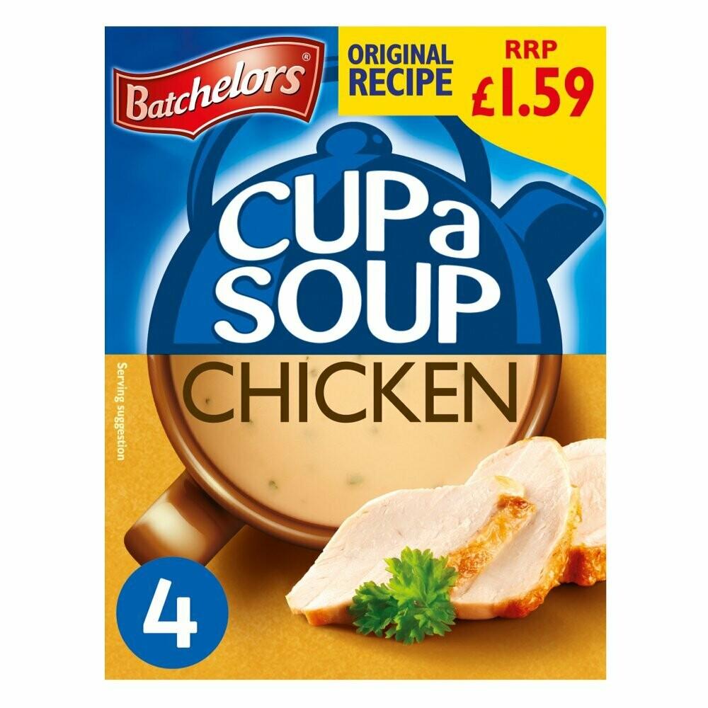 Batchelors Chicken Cup Soup (4 sachets)