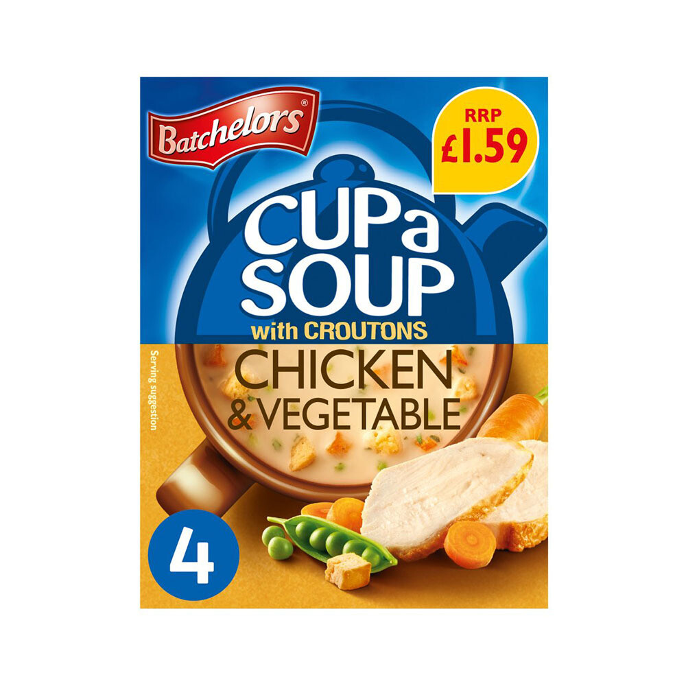 Batchelors Chicken & Vegetable Cup Soup