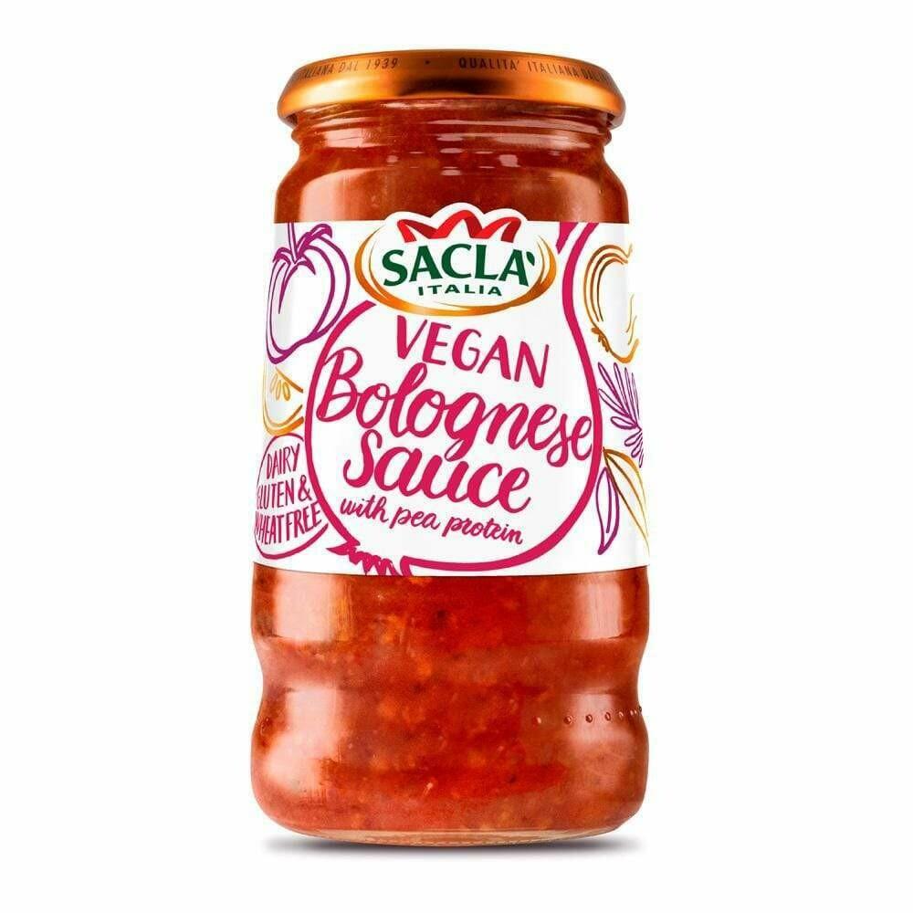 Vegan Bolognese Sauce - Sacla