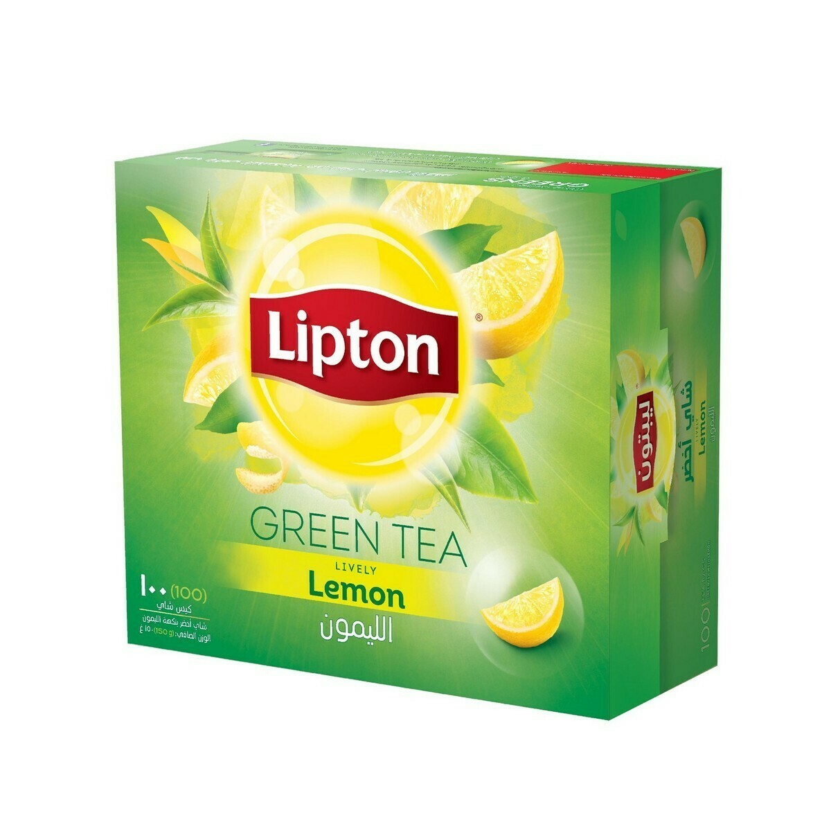 Lipton Green Tea Lively Lemon