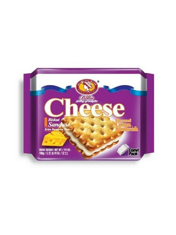 Bellie Cream Sandwich Biscuit - Cheese