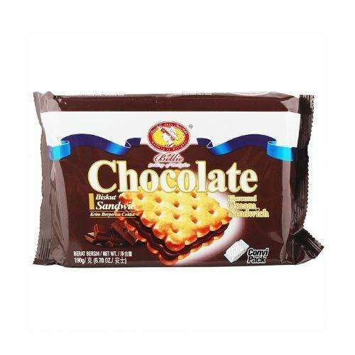 Bellie Cream Sandwich Biscuit - Chocolate