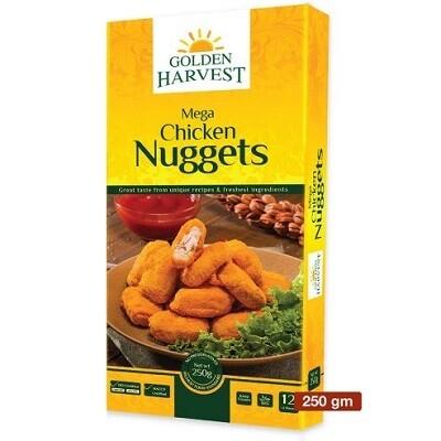Mega Chicken Nuggets-Golden Harvest
