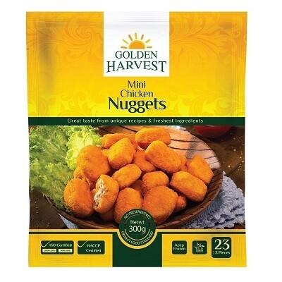 Mini Chicken Nuggets-Golden Harvest
