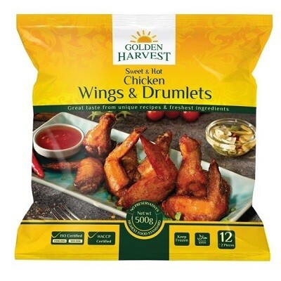 Sweet Hot Wings and Drumlets-Golden Harvest